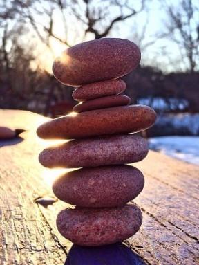 Balans stenar, liten