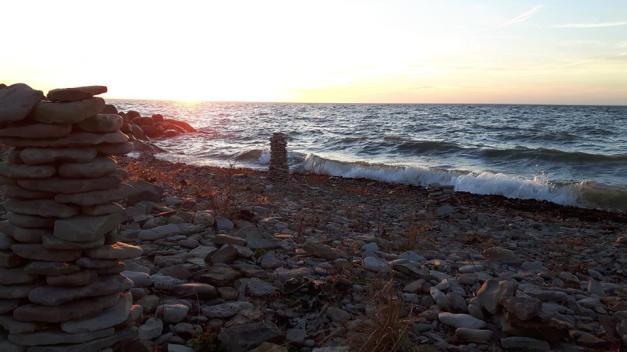 Promenad vid havet, Äleklinta Öland